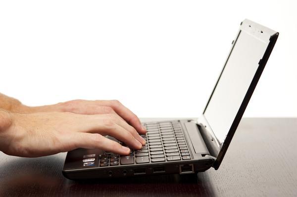 netbook typing