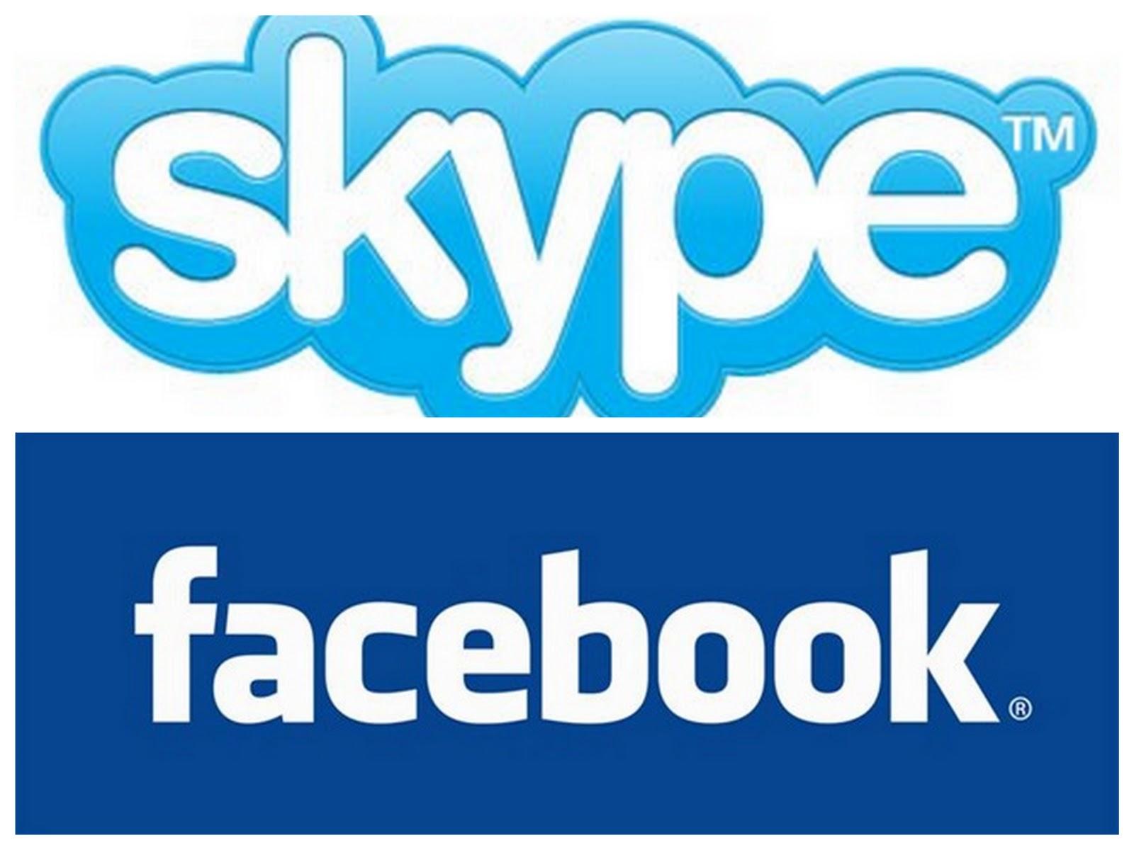 skype&facebook