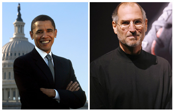 Steve-Jobs-Barack-Obama
