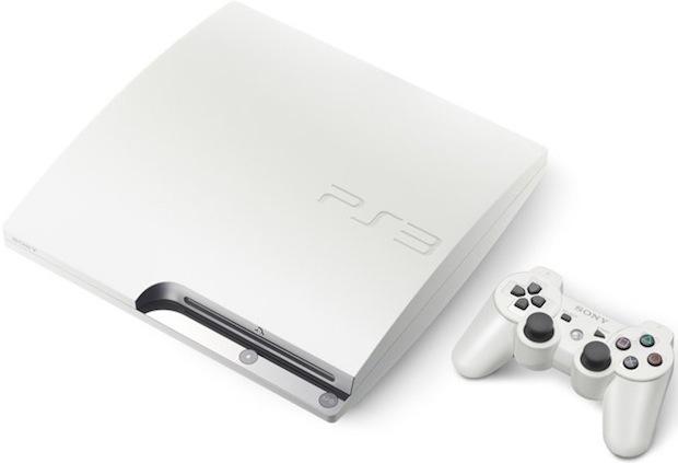 Sony-PlayStation3-White