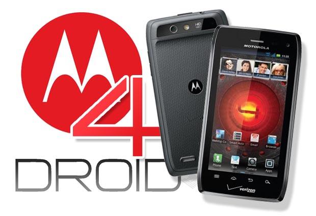 Motorola-Droid-4-with-Motorola-Logo