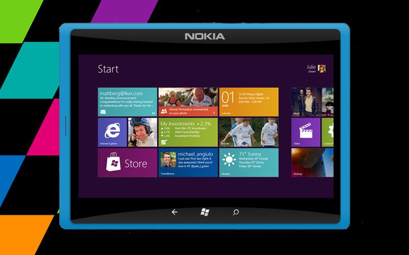 Nokia FakePad