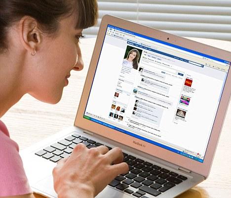 Woman Facebook