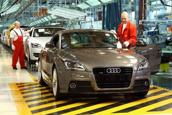 autógyártás Audi