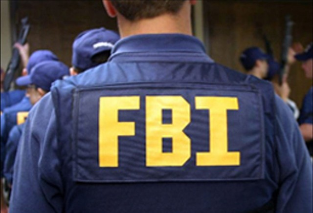 FBI large jacket