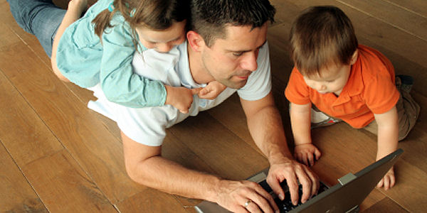 family-using-internet