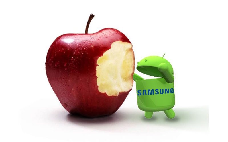 samsung eat apple