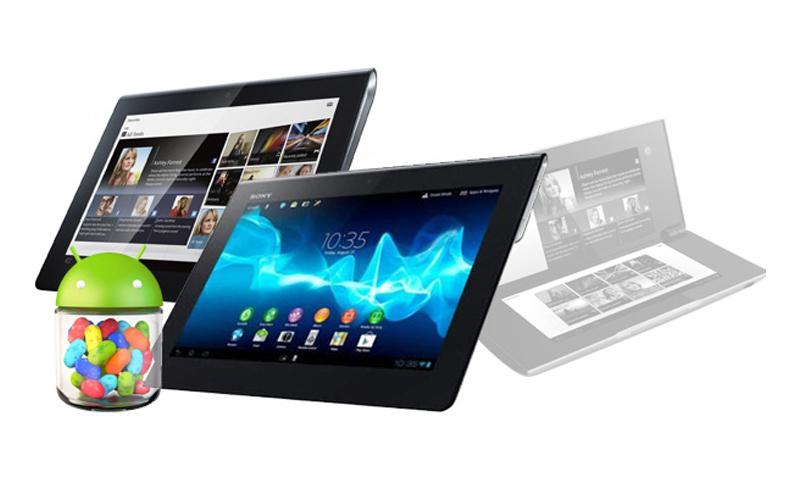 sony tablet update JB