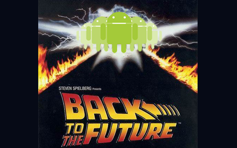 back to the android