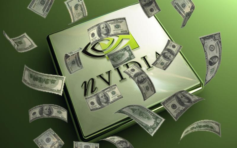 nvidia money rain
