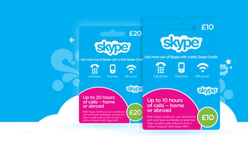 skype prepaid