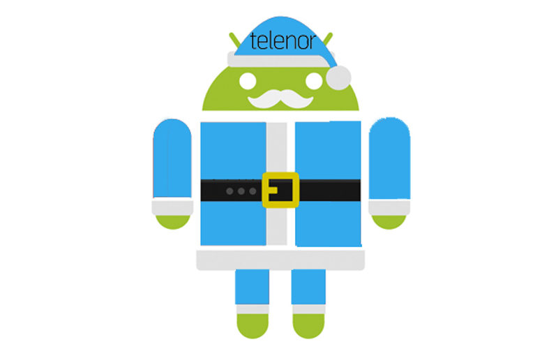 telenor android mikulas2