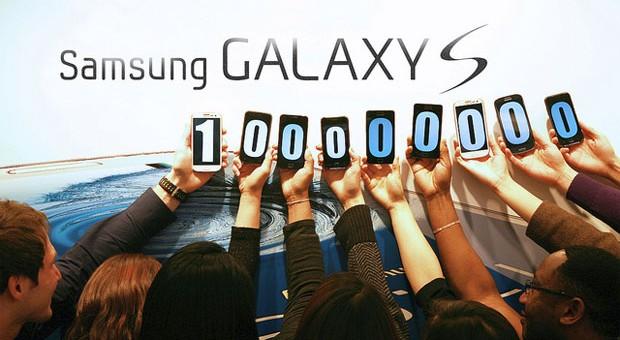 100million galaxy s