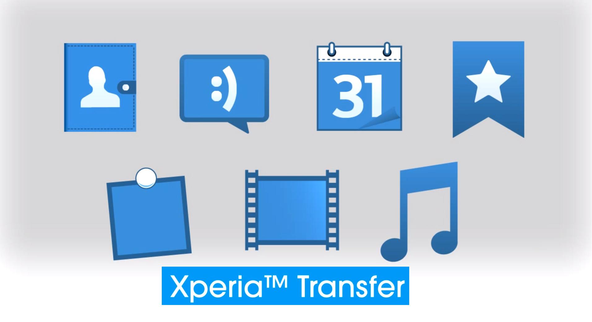 Xperia Transfer