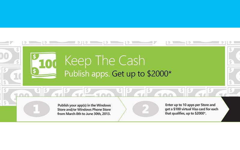 keep the cash