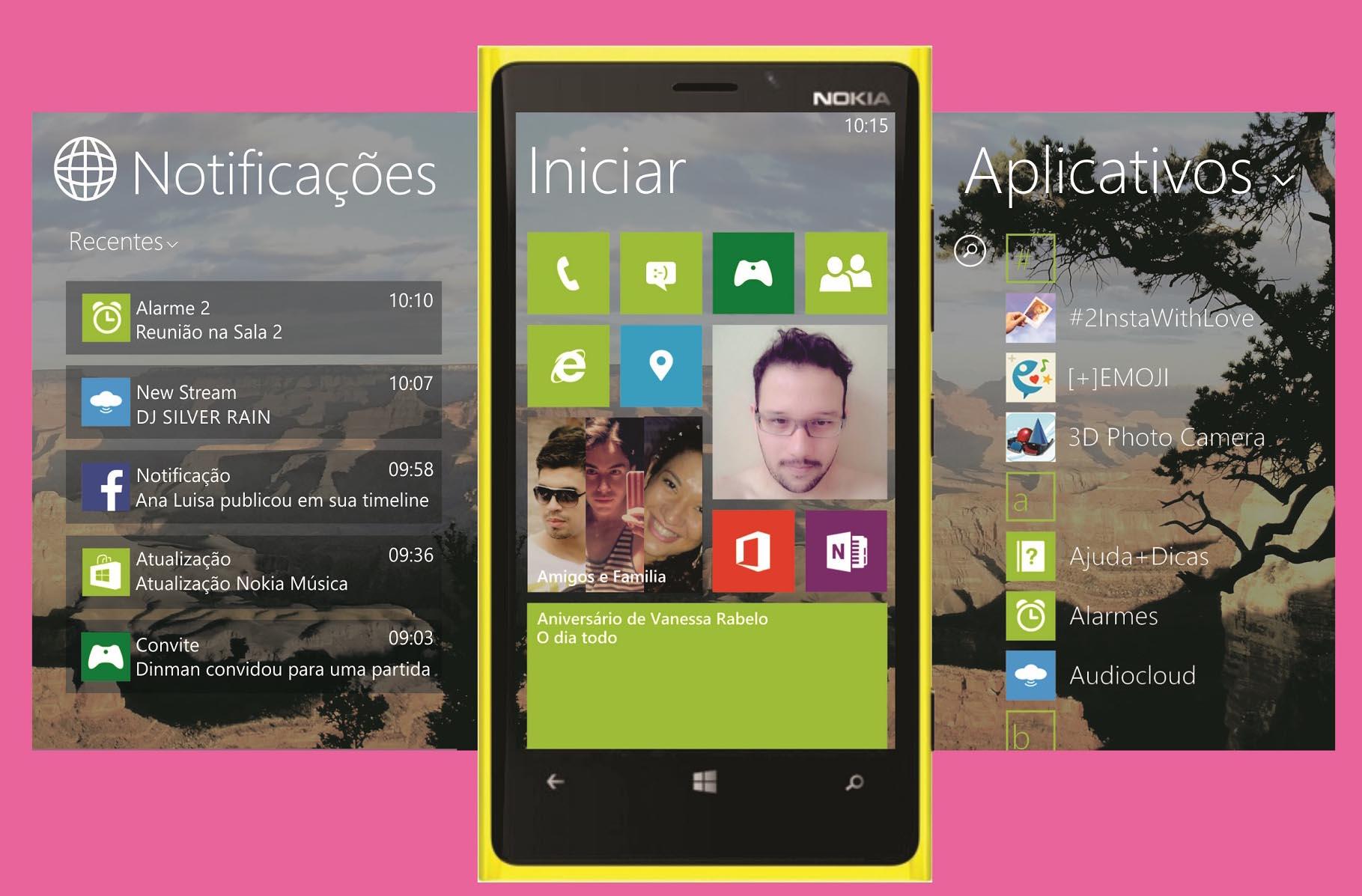 Minha visão da Nova Versão do Windows Phone 8.1 baseado nos va