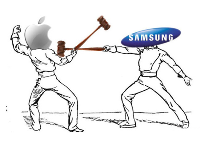 battlesamsungapple