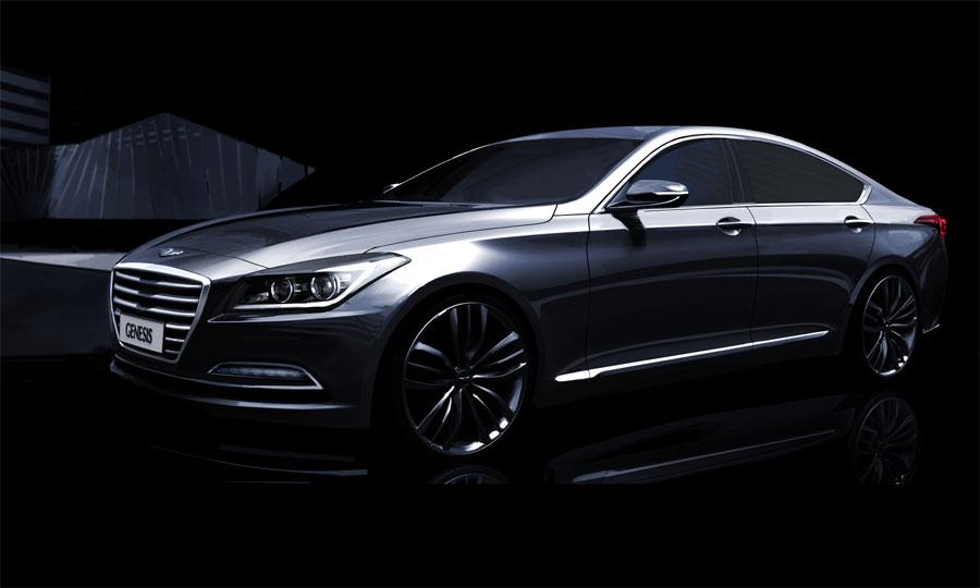 2014-Hyundai-Genesis-render