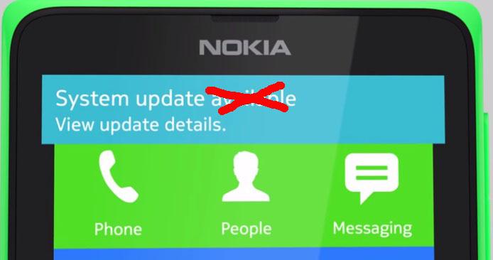 Kínos: Nem frissülnek az androidos Nokiák!