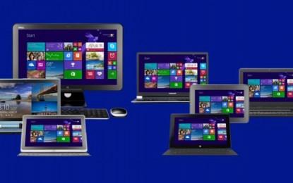 Újabb Windows nyomta le az XP-t