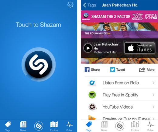 Frissült a Shazam: Már meg is hallgathatjuk a felismert számokat