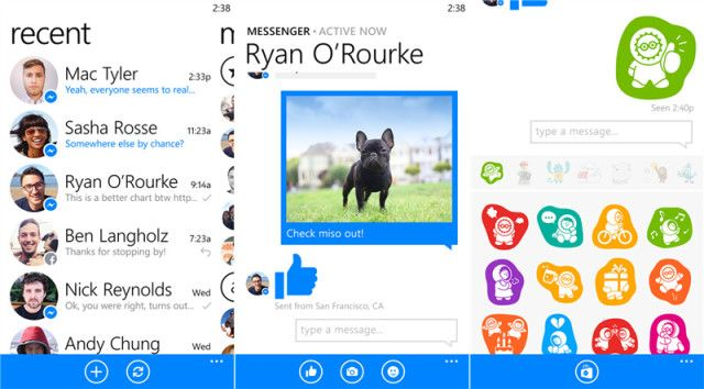 Épp időben: Frissült a Windows Phone Facebook Messenger
