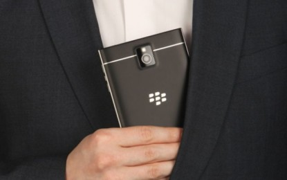 3450 mAh-es akksival érkezik a BlackBerry Passport
