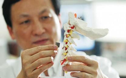 Íme az első 3D nyomtatott csigolya implantátum
