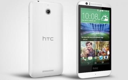 Bejelentették a HTC Desire 510-et