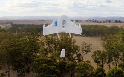 Nem semmi! A Google csomagszállító drónokat tesztel
