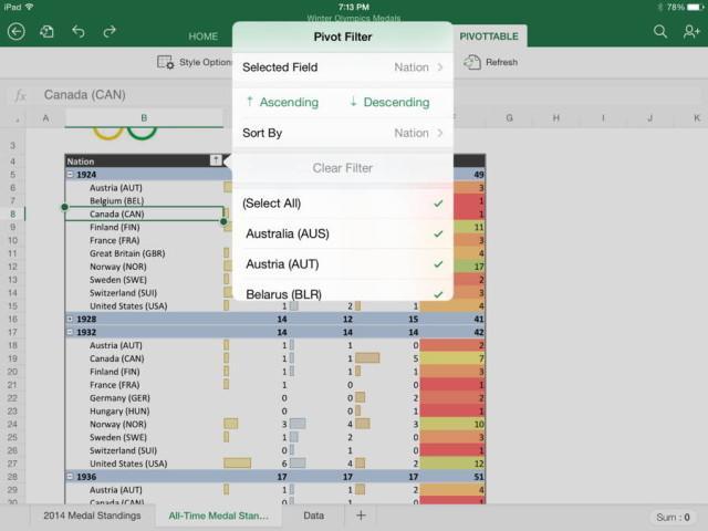Frissült az Office az iPad-ekhez