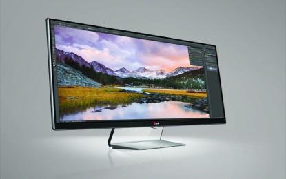 Iparágvezető az LG UltraWide monitor termékcsaládja