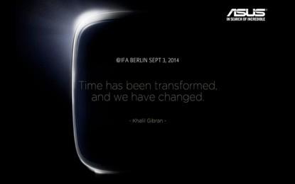 Szeptember 3-án érkezik az ASUS androidos okosórája