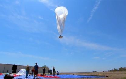 Ballonról érkezik az ingyenes Wi-Fi az Erzsébet téren