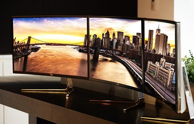 A világ első ívelt, UltraWide monitorával készül az LG az IFA-ra
