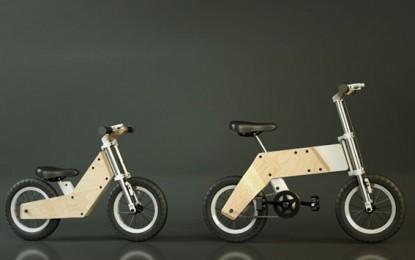 Miilo: Egy bicikli, mely a gyermekkel együtt növekszik