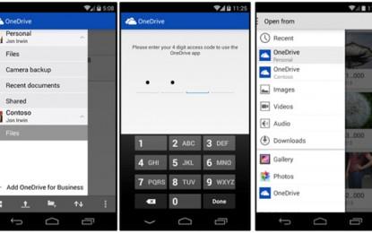 Frissült a OneDrive applikáció