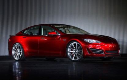 A Saleen készíti a Tesla Model S tuning változatát
