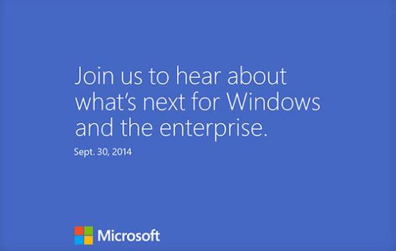 Szeptember 30-án mutatják be az új Windowst