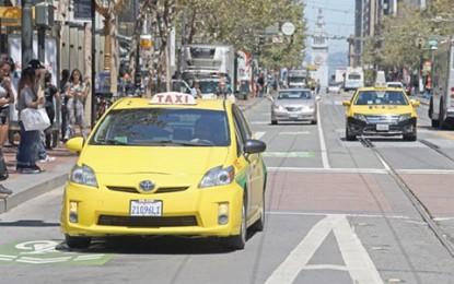 65%-kal csökkent a taxihasználat San Franciscoban