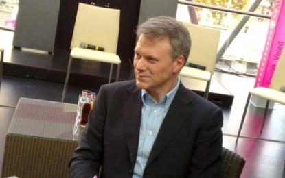 Christopher Mattheisen, a Magyar Telekom vezérigazgatója: A sharing economy a jövő