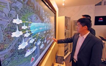 Közel félmilliárd eurót költ a Huawei 5G fejlesztésre
