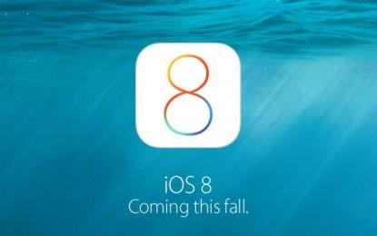 Hivatalosan is itt az iOS 8