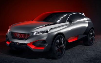 Bámulatos koncepcióautóval rukkolt elő a Peugeot