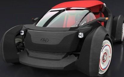 Íme az első 3D nyomtatott elektromos autó