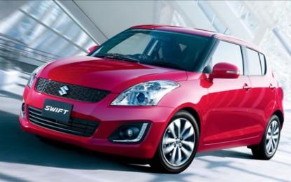 A négymilliomodik Suzuki Swift is elkelt