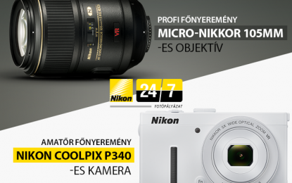 A Nikon harmadszorra indította el hazai fotópályázatát a Nikon 24/7-et