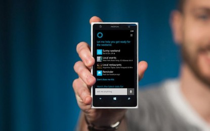 Cortana már a közeli koncertekről is értesít