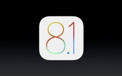 Végre itt az iOS 8.1