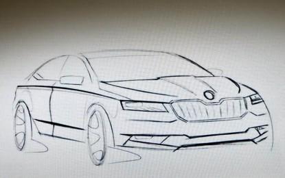 Hibrid verzióban is jön az új Skoda Superb